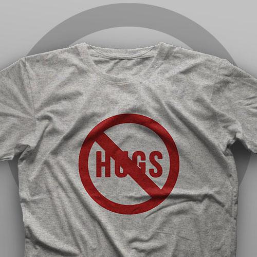 تیشرت No Hugs #8