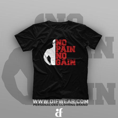 تیشرت No Pain No Gain #5