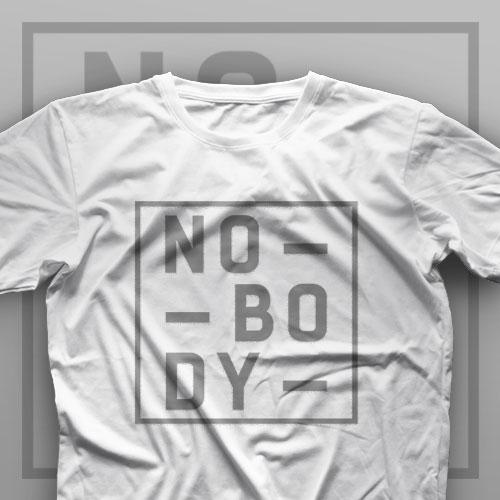 تیشرت Nobody #2