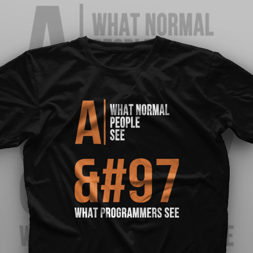 تیشرت Programming: What Programmers See #9