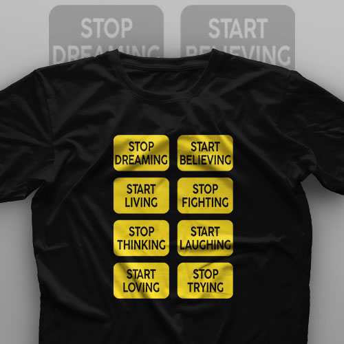 تیشرت Stop And Start
