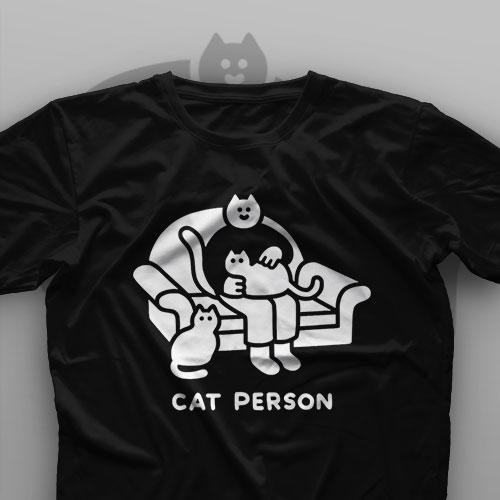 تیشرت Cat Person #1