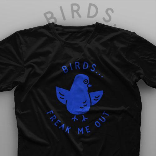 تیشرت ?Birds Freak Me Out
