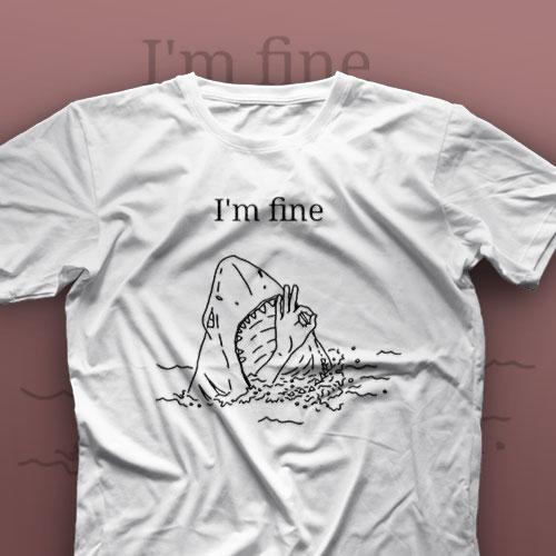 تیشرت I'm Fine #16