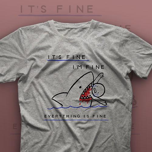 تیشرت I'm Fine #17