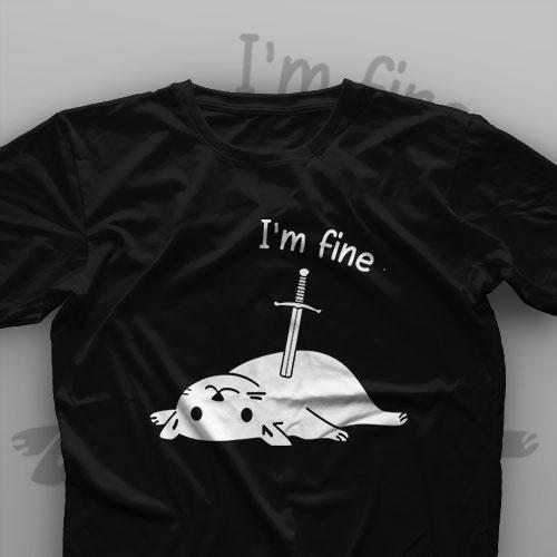 تیشرت I'm Fine #12