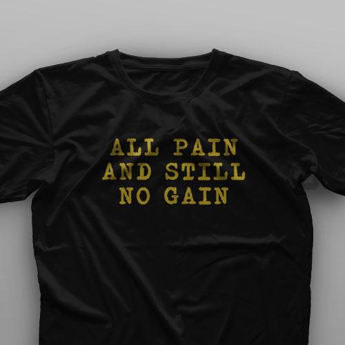 تیشرت All Pain No Gain