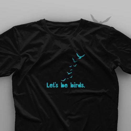 تیشرت Let's Be Birds