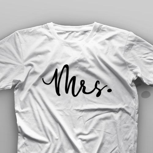 تیشرت Couple: Mr And Mrs #B