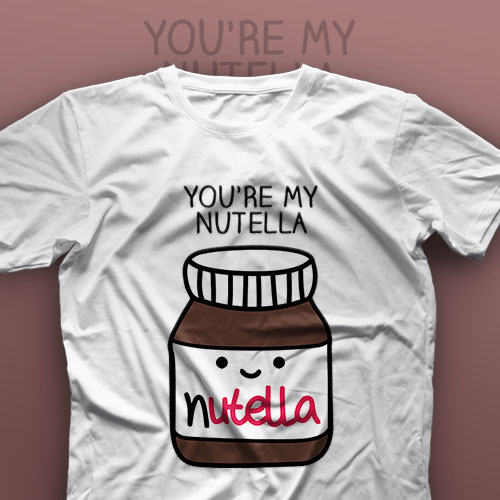 تیشرت Couple: Nutella And Bread #A