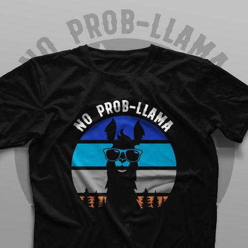 تیشرت No Probllama #2