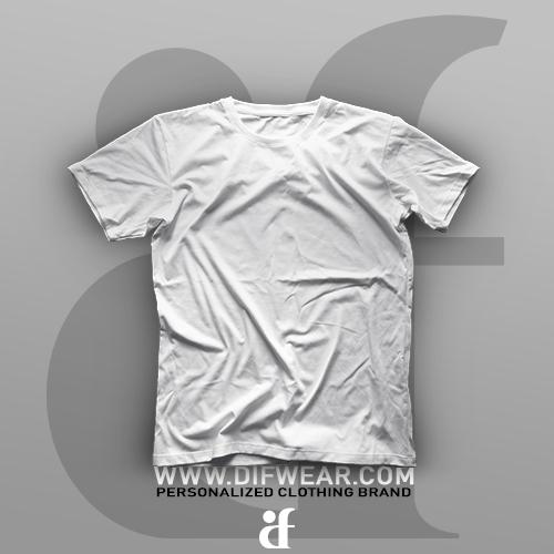 تیشرت سفید ساده (بدون طرح)
