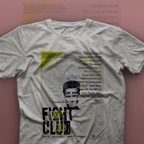 تیشرت Fight Club #13