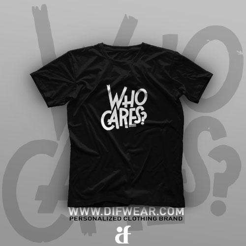 تیشرت  Who Cares #1