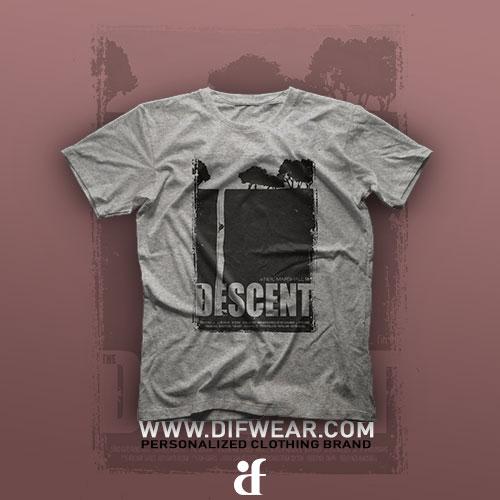 تیشرت The Descent #1