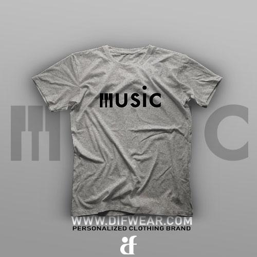 تیشرت Logo Art: Music #4