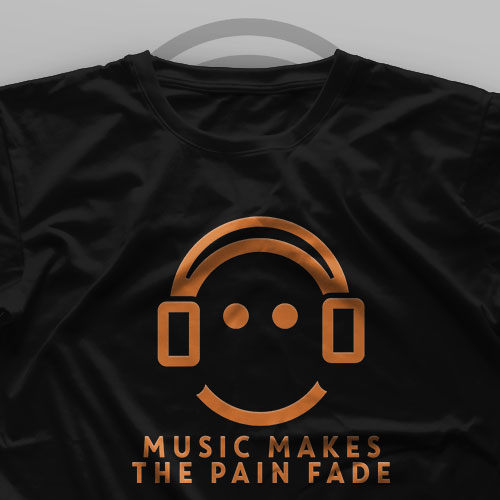 تیشرت Music Makes The Pain Fade
