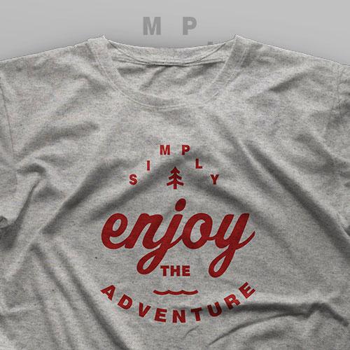 تیشرت Simply Enjoy The Adventure