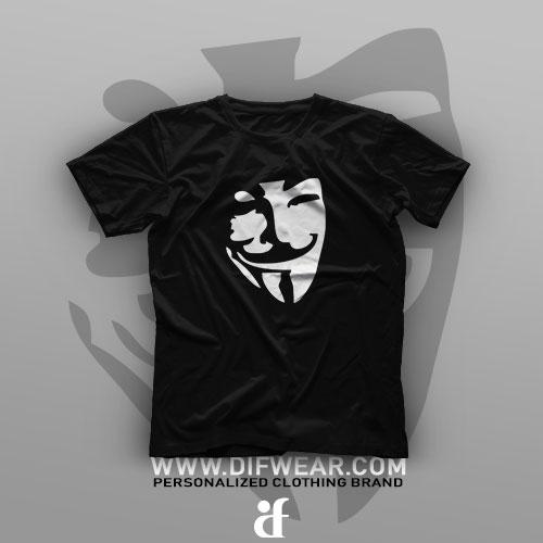 تیشرت Shadow Art: V for Vendetta #40