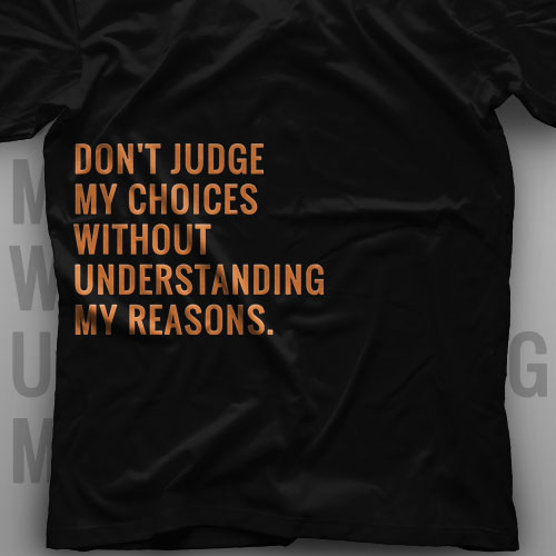تیشرت Don't Judge Me #2