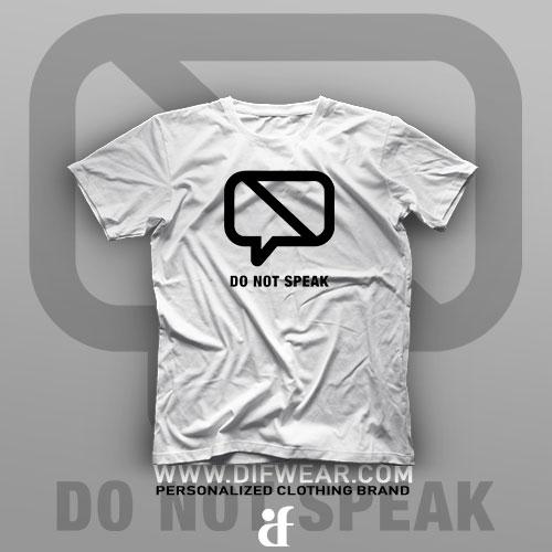تیشرت Don't Speak #1