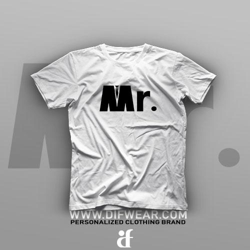 تیشرت Logo Art: Mr #1