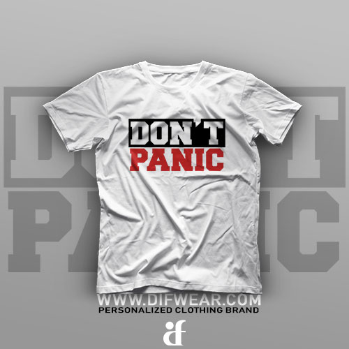 تیشرت Don't Panic #2