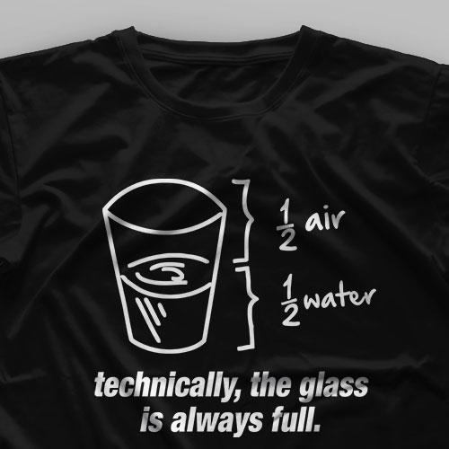 تیشرت The Glass is Always Full