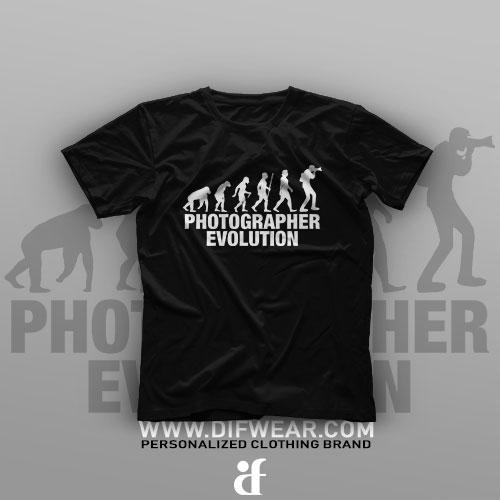 تیشرت Photographer Evolution
