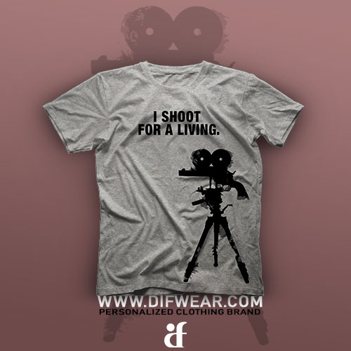 تیشرت I Shoot For A Living