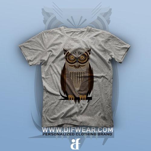تیشرت Owl #1