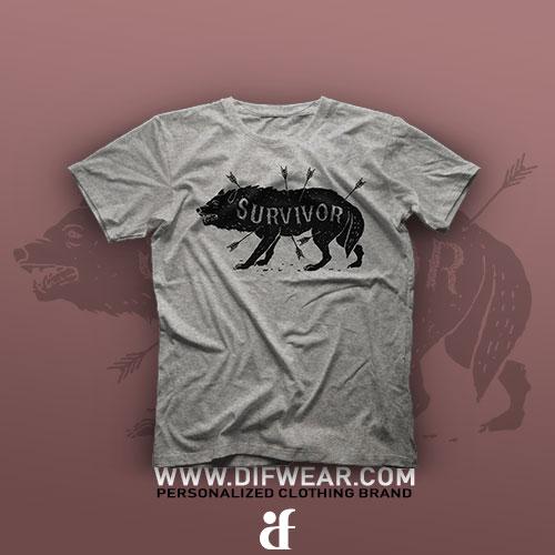 تیشرت Survivor #1