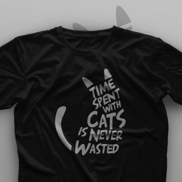 تیشرت Time Spend With Cats