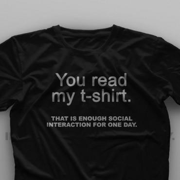 تیشرت You Read My T-Shirt #1