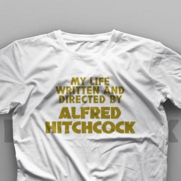 تیشرت My Life Written And Directed By Alfred Hitchcock