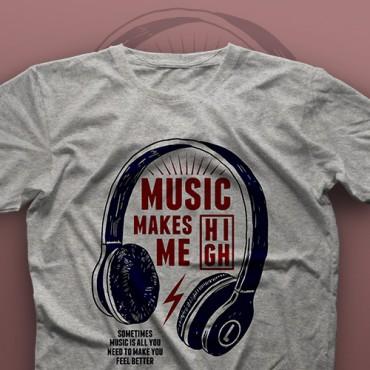تیشرت Music Makes Me High #1