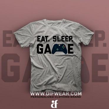 تیشرت Eat, Sleep, Game