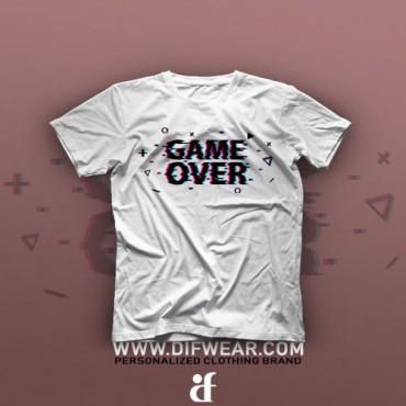 تیشرت Game Over #3