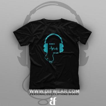 تیشرت Music is My Life #1