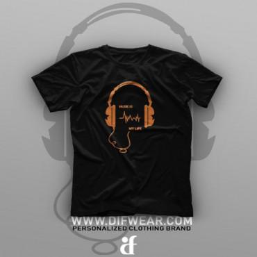 تیشرت Music