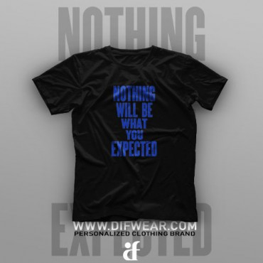 تیشرت Nothing Will Be What You Extended