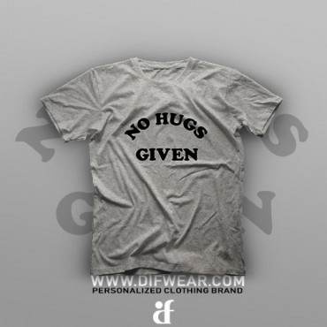تیشرت No Hugs #4