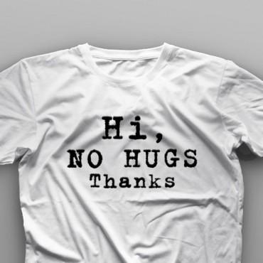 تیشرت No Hugs #7