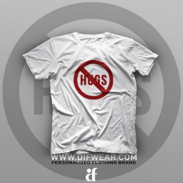 تیشرت No Hugs #XX