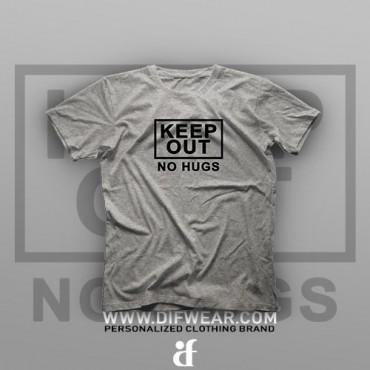 تیشرت No Hugs #2