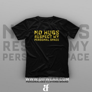 تیشرت No Hugs #XX
