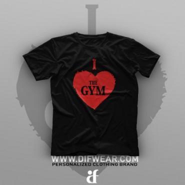 تیشرت I Love Gym #1