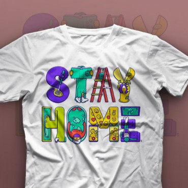 تیشرت Stay Home #XX