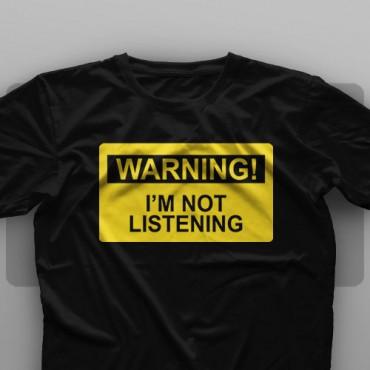 تیشرت Warning #2