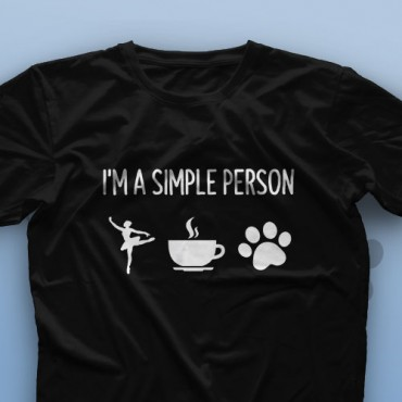 تیشرت I Am A Simple Person #1